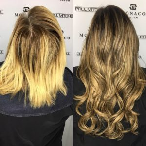 best hair extensions by krista abad in Tampa FL